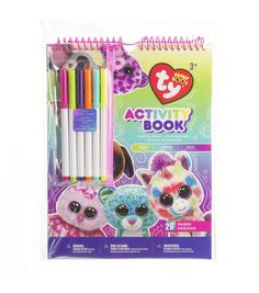 Ty Inc. Beanie Boos Activity Book with Markers