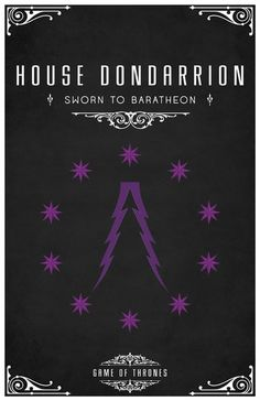 Game of Thrones - House Dondarrion