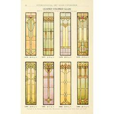 International Art Glass 1914 18 Canvas Art - (18 x 24)