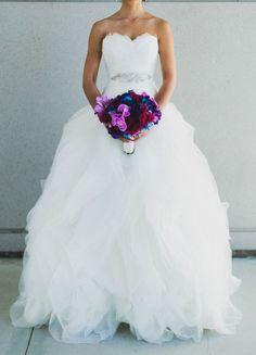 Unique Pronovias 2014 Benicarlo Wedding Gown Size 2