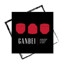 GANBEI logo | Linda Fung #logo, #design, #identity Bar, My Works, Identity, Logo Design, Storage, Logos, Home Decor, Kitchens, Purse Storage