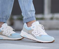 NEW BALANCE REVLITE 580 (WOMENS): Navy/Tan KN | Available at HYPE DC (Basket Fitness Femme)