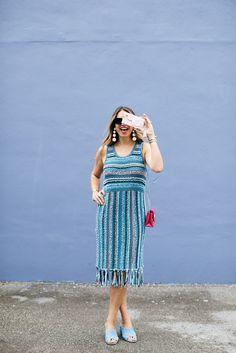 Love a fringe dress!