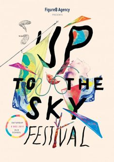 [ REF ] [ POSTER ] [ TIPOGRAFIA ] [ COLAGEM ] Up to the sky Festival 2011