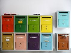 Italian apartment mailboxes | Interior Design | Pinterest ...