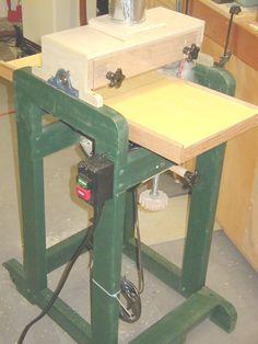 Great step by step, drum sander build