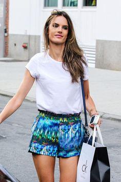 Alessandra Ambrosio's shorts