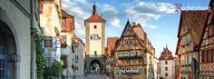 Rothenburg ob der Tauber -Willkommen in Rothenburg - Christmas Market