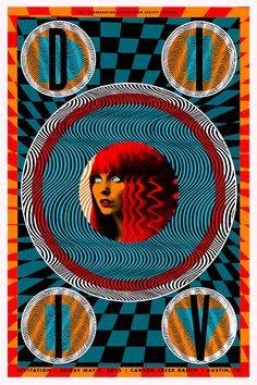 DIIV. Poster design: Nate Duval (2015).