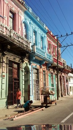 Photo is about - havana,cuba,houses,free pictures, free photos . Varadero Cuba, Havana Cuba, Havana Beach, Cienfuegos, Honduras, Places To Travel, Places To See, Travel Destinations, Puerto Rico