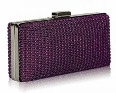 Sparkly Diamante Evening Clutch Bag  16.5cm wide x 8cm high with a long chain.  £30.00  http://www.icejewellery.com/nataliewilkinson/1/