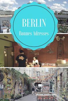 Mes bonnes adresses à Berlin : Où boire un thé et manger une bonne pâtisserie, Où manger de bons Maultaschen ou de la World Food, une adresse pour bruncher et sortir danser le soir ! Préparez votre séjour ! #Berlin #Allemagne #Bonnes Adresses #Worldfood #CityTrip
