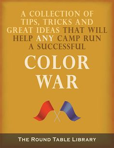 Have you always wanted to run a Color War (a. Color Olympics or Color Clash)? Do you run a day camp and are unsure how to run a Color War? Are you wondering how you can run a Color War in just …