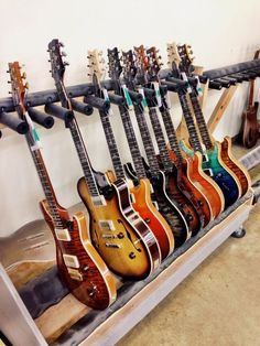 Nice rack of PRS's. Can't get enough of'm