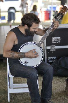 beard and banjo