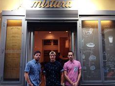 Carmelo, Ángel y Carlos  | Mistura Handcrafted Ice Cream #misturaicecream