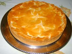 Flavors of Brazil: RECIPE - Chicken, Palmito and Catupiry Pie (Torta de Frango, Palmito e Catupiry)