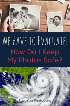 Plastic bags, plastic bins and backups can be your best friends when facing a disaster that may damage your home. Learn more on how to protect your photos BEFORE the disaster hits.  #irma #saveyourphotos