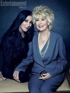 Cher and Mom- saw a show where cher sang with her mom  they sounded exactly the same ... same voice out of 2 women  amazing