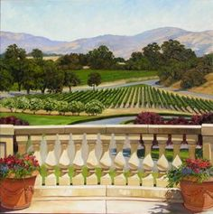 Napa Valley Wine Country & Vineyard Art Paintings Photographs Giclee