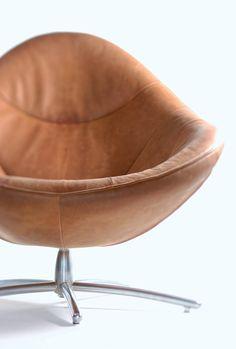 CHEO - Fauteuil contemporain / en cuir by Label Produkties bv Pink Desk Chair, Home Furniture, Furniture Design, Herman Miller Aeron Chair, Diy Shops, Classic House, Mid Century Design, Baseball, Designer