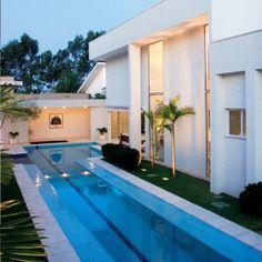 Dream Pools, Pool Houses, Jacuzzi, Swimming Pools, Lap Pools, Facade, Design Art, Sweet Home, Floor Plans