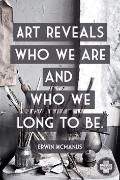 Erwin McManus inspiration quote art