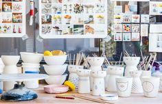 1 OF 8 The Sydney studio of ceramicist Vanessa Holle aka Vanessa Bean. Photo – Nikki To for The Design Files.