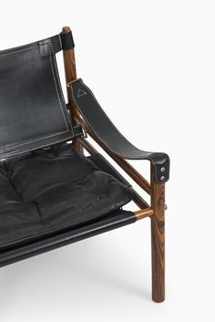 Arne Norell Sirocco easy chairs in rosewood at Studio Schalling