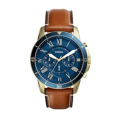 Fossil Mens Grant Sport Leather - FS5268 Review Fossil Watches d74769638c