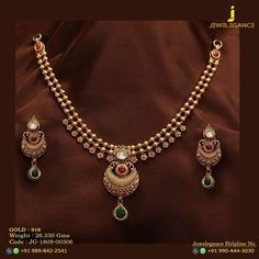 Gold 916 Premium Design Get in touch with us on Gold Necklace Simple, Gold Jewelry Simple, Gold Wedding Jewelry, Gold Necklaces, Necklace Set, Gold Jewellery Design, Handmade Jewellery, Silver Jewellery, Jewelery