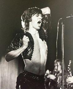 Mick Jagger, 1971                                                                                                                                                                                 Mais