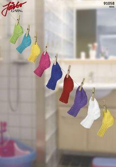 Baby socks in our cotton yarn Nova. Stick O, Baby Socks, Nova, Baby Knitting, Pixie, Crochet Earrings, Drop Earrings, Pattern, Cotton
