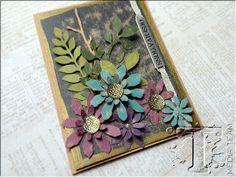 observations floral card