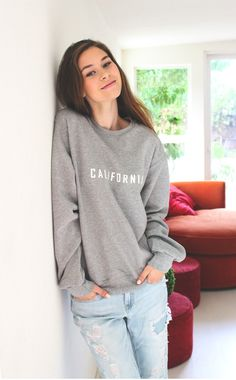 California Sweater - Grey
