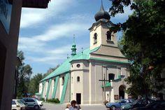 Church in Istebna, Poland