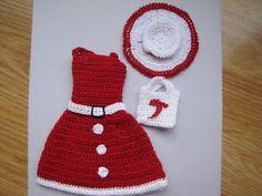 Barbie Doll Clothes Crochet New Handmade | eBay