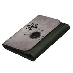 Evil Flower Bug Vintage Wallets