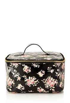 Floral Travel Makeup Case | FOREVER21 - 1000119499