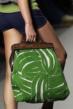 green bananas Miu Miu, Spring 2003 Clothing, Shoes & Jewelry : Women : handbags and purses for women Miu Miu Tasche, Sacs Tote Bags, Diy Sac, Fabric Bags, Handmade Bags, Beautiful Bags, Fashion Bags, Men Fashion, Winter Fashion