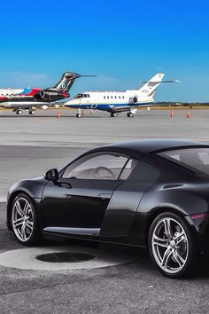 Audi R8 & Private Jets