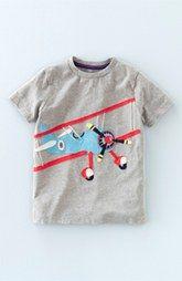 Mini Boden 'Vehicle' Appliqué T-Shirt (Toddler Boys, Little Boys & Big Boys)