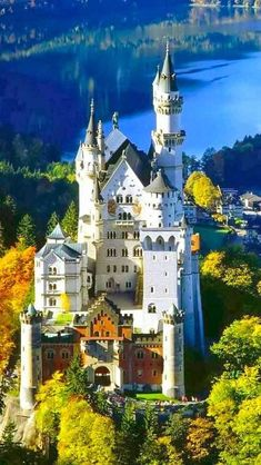 Most Beautiful Castles - Neuschwanstein Castle, Germany. Would love to visit the beautiful castles in Germany. Places Around The World, Oh The Places You'll Go, Places To Travel, Places To Visit, Around The Worlds, Travel Destinations, Travel Europe, Germany Destinations, Beautiful Places In The World