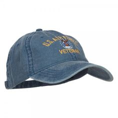 c567c8056ca US Air Force Veteran Military Embroidered Washed Cap - Navy in 2019 ...