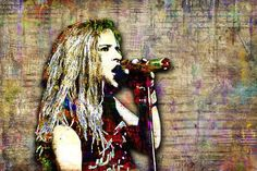Andrew Wood Print, Andrew Wood Art, Andrew Wood Tribute Artwork, Andrew Wood Poster for Mother Love Bone Fans Canvas Wall Art, Wall Art Prints, Canvas Prints, Andrew Wood, Fan Poster, Colorful Artwork, Mothers Love, Wood Print, Painting & Drawing