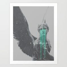 Exodus Art Print by Frank Moth   Society6
