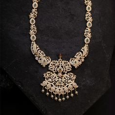 Every Sambav Diamond creation adds to our tradition of excellence and unique design. Meticulous attention to detail & quality is ingrained in each product Diamond Necklace Set, Diamond Pendant, Diamond Jewelry, Gemstone Jewelry, Dimond Necklace, Diamond Bangle, Gold Jewelry, Antique Jewellery Designs, Gold Earrings Designs