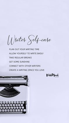 Self-care is vital for all writers. We authors can be our worst enemy. To succeed in our writing, we need to take care of ourselves. Here are our self-care tips to help you produce your best work without losing your sanity. Writing Quotes, Writing Advice, Fiction Writing, Writing Skills, A Writer's Life, Best Friendship Quotes, Happy Quotes, Happiness Quotes, Writers Write