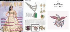 "Ghanasingh Be True wins 'Amazon Shoppers Choice Colour Gemstone Jewellery of The Year Award' at The Oscars of the jewellery industry ""Retail Jeweller India Award"" Got Featured in WEDDING AFFAIR MAGAZINE."