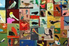 1000 bird paintings - Chiz Turnross